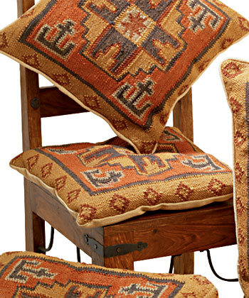 Kilim Prefilled Seat Cushion Gt Chair Pads Amp Seat Cushions