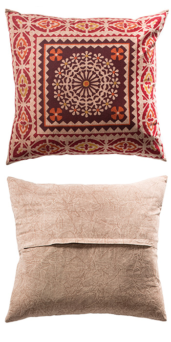 Jaipur Indian Print Cushion Cover 60 X60cm Gt Cushions