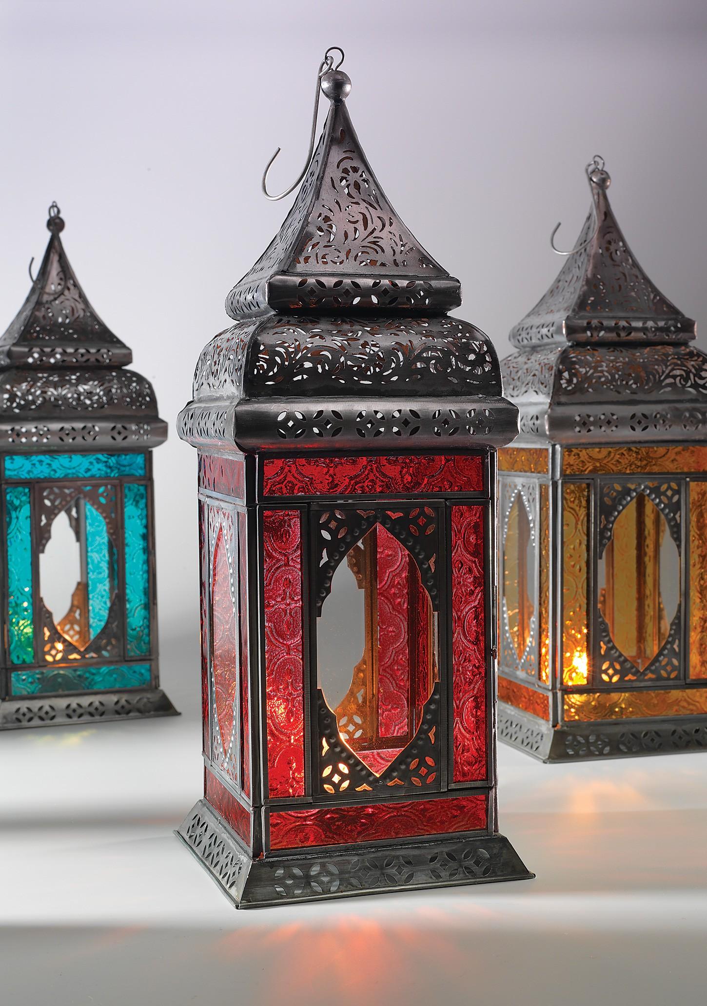 style large indian glass lantern lanterns gifts namaste home