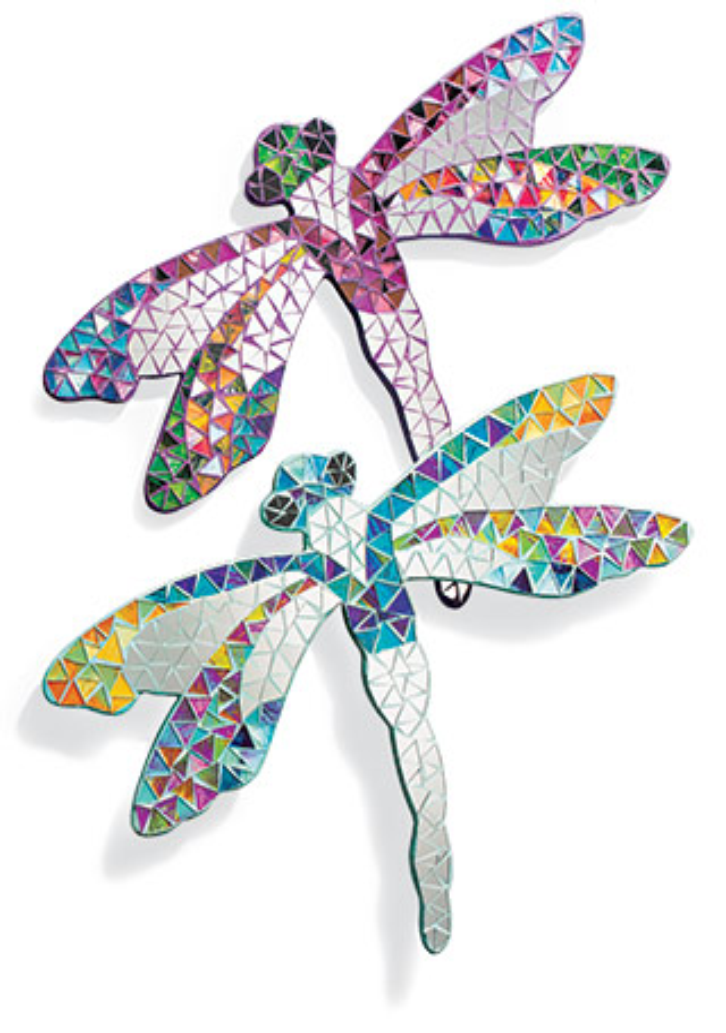 Dragonfly Mosaic Mirror Wall Art Gt Mirrors Gt Home