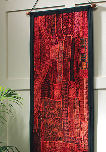 Patchwork Wallhanging 45x120cm Gt Wallhangings Gt Home
