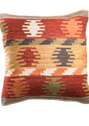 Aztec Style Kilim Cushions Amp Footstools Gt Furnishings