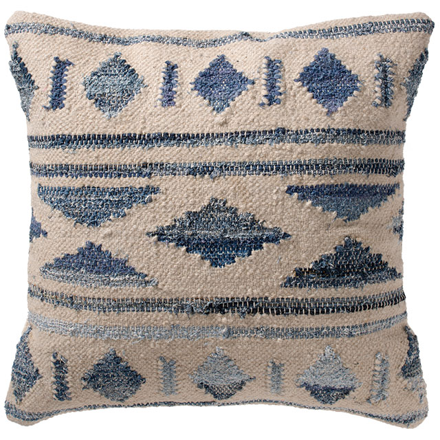 Fantastic Inca Tribal Kilim Cushion Cover Recycled Denim Cushions Download Free Architecture Designs Rallybritishbridgeorg