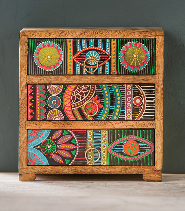 Hand Painted 3 Drawer Chest > Chests of Drawers ...