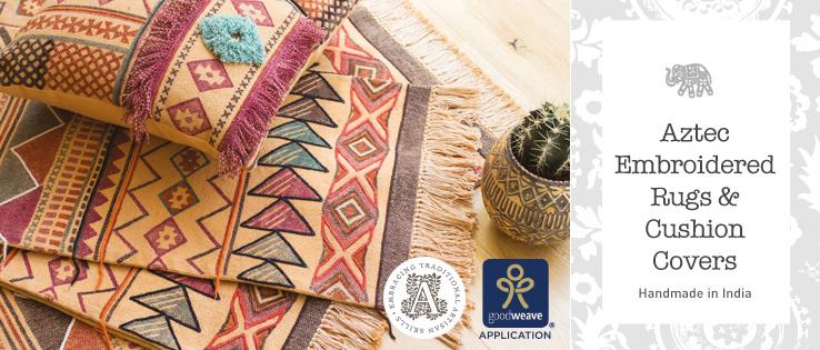 fdb496c9c2 Tribal Block Printed Rugs > Rugs > Home Furnishings > Namaste Fair ...