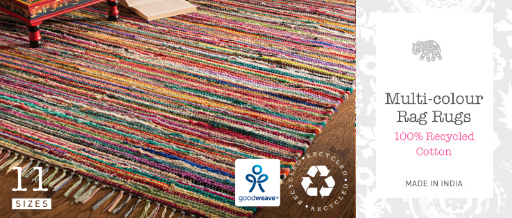 Rag Rugs Gt Rugs Gt Home Furnishings Gt Namaste Fair Trade