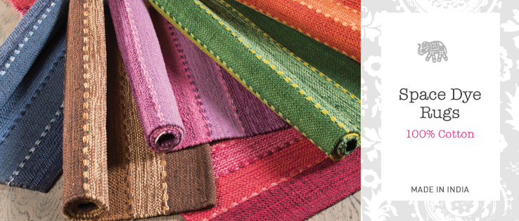 Space Dye Cotton Rugs Home Furnishings Namaste Fair Trade