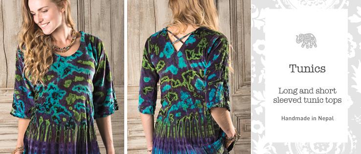 1c44992765 Tunics > Clothing > Namaste Fair Trade > Namaste-UK Ltd