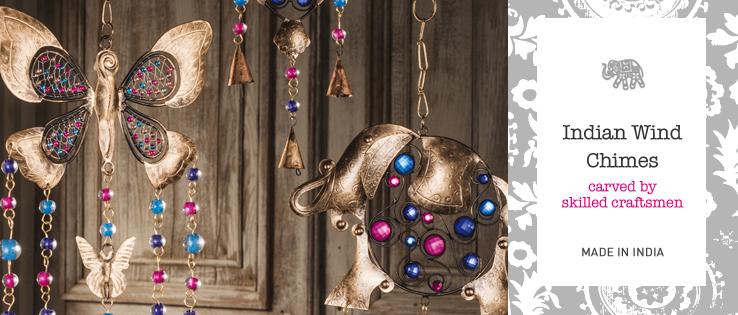 Indian Windchimes Home Gifts Namaste Fair Trade Namaste Uk Ltd